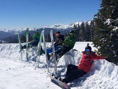 Skiing in Vail Colorado 2015