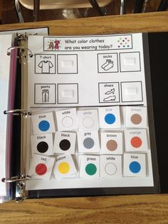 The Autism Tank: Morning Work Binders. Repinned by SOS Inc. Resources pinterest.com/sostherapy?