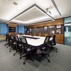 Telus International #office #interior #design #boardroom