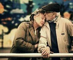 old couples just make my day. I love old people. Old Love, Love Is All, True Love, Old People Love, Old Couple In Love, Beautiful Couple, Young People, Old Married Couple, Married Couples