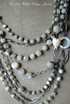 """Christine Wallace... """"Honoring Life Through Jewelry"""": One Crazy Week..."""