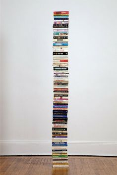 A stack of books. How fun.