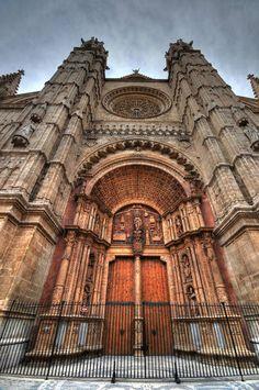 Palma de Mallorca cathedral, Spain