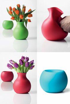 Vase Design Ideas deluxe tall glass flower vases Modern Flower Vases 24 Decorative Designs Ideas And Arrangements Captivatist