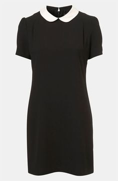 collar shift dress