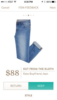 Would love a great, comfortable pair of jeans that look great on! Doesn't have…