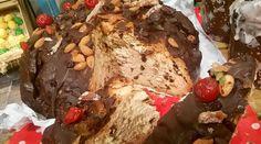 Pan dulce bañado en chocolate - Cocineros Argentinos