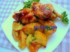 Рецепт запеченной курицы с картофелем  Всем любителям курочки и картошки этот рецепт придётся по душе, ведь куроца, запеченная по этому рецепту, получается невероятно вкусной, нежной с аппетитной румяной корочкой! Ингредиенты: курица — 1.8 кг кефир — 100 мл чеснок сушеный — 0.5 ч.ложки лимонный сок — 2 ст.ложки картофель — 1 кг специи для картофеля — 1 ч.ложка растительное масло — 3 ст.ложки соль, перец — по вкусу Приготовление: Подготовить курицу. Курицу можно будет готовить целой или как…