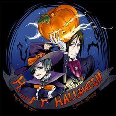 Kuroshitsuji halloween