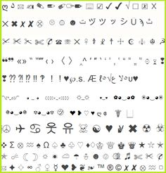 Facebook Emoticons List - To use amazing 'Emoji' icons, all you ...