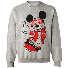 OBEY-HAVE A NICE DAY- SWEATSHIRT