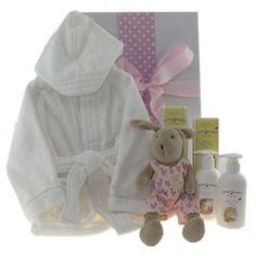 Baby bath robe gift hamper. Peter Rabbit bath wash. #babygifts #babyhampers