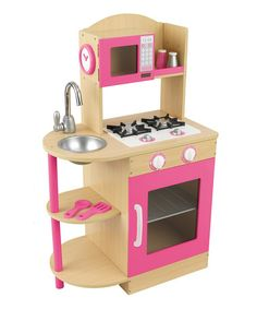 Take a look at this Natural Wooden Kitchen by KidKraft on #zulily today! #toys http://www.zulily.com/invite/Zulily20Store