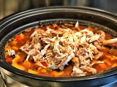 Slow cooker recipe: chili with sweet potato and chicken - One Hand in my Pocket - Slow cooker recipe: chili with sweet potato and chicken – One Hand in my Pocket - Slow Cooker Chili, Healthy Slow Cooker, Crock Pot Slow Cooker, Healthy Crockpot Recipes, Healthy Dishes, Stroganoff Slow Cooker, Slow Cooker Recepies, Multicooker, Mexican Food Recipes