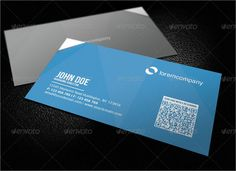 Corporate QR Code Business Card Clean and simple is the design of this business card. This business card also comes with a QR code. The information and the QR code are strategically placed to achieve the best balance between the content. This design is a must have if you wish to stands out from the rest of the business card. This business card comes with 4 different colors which cater to different preferences. Detail Fully Layered PSD files Fully Customizable and Editable CMYK Setting 300…