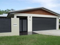 Roller doors are the best selling type of garage doors, but you have other options as well. Carport Designs, Garage Design, Door Design, Carport Ideas, Fence Design, Garage Ideas, Yard Ideas, Carport Garage, Garage Doors