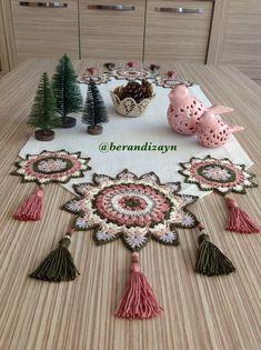 Crochet Art, Crochet Motif, Crochet Crafts, Crochet Doilies, Crochet Projects, Crochet Edging Patterns, Crochet Animal Patterns, Doily Patterns, Crochet Placemats