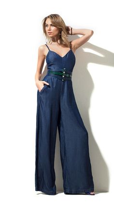 MACACAO JEANS PANTALONA STUDIO Vintage Summer Outfits, Cute Summer Outfits, Holiday Outfits, Stylish Outfits, Cute Outfits, Denim Fashion, Look Fashion, Fashion Outfits, Fashion Design