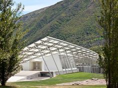 Peregrine Winery. Location: Central Otago, South Island of New Zealand; firm: Architecture Workshop of Cristopher Kelly; year: project 2003