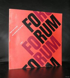 Kees Nieuwenhuijzen, dutch typography # FORUM 1-1964 # 1964, nm