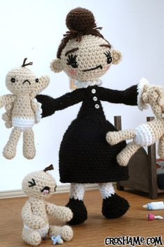 """Amigurumi Mother"" #crotchet #animals #toys #crotchetanimals Crotchet Animals Must make!"