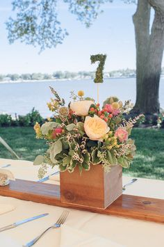 Moss - Go for earthy elegance with moss-covered centerpiece accents. {Gilded Lily Events}