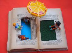 Bade in Büchern! Aus: 1-Euro-Pädagogik, www.wamiki.de