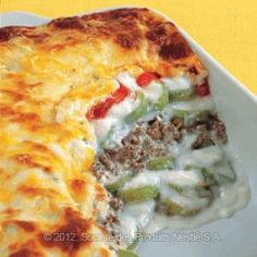 Zucchini Béchamel - Lebanese