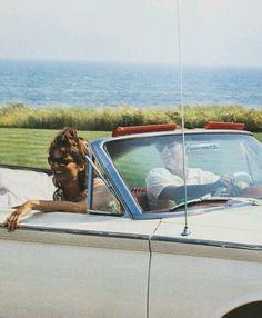 Jackie and JFK, summer 1963.
