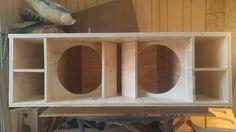 Dj Speakers, Speaker Plans, Subwoofer Speaker, Subwoofer Box Design, Speaker Box Design, Audio Design, Boombox, Bookcase, House Design