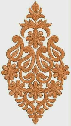 Stitcher's Revolution Iron-On Transfer Pattern for Embroidery, Raining Cats and Dogs - Embroidery Design Guide Indian Embroidery, Gold Embroidery, Embroidery Fashion, Embroidery Patches, Embroidery Applique, Border Embroidery Designs, Hand Embroidery Patterns, Machine Embroidery Designs, Patch Design