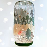 Create a Wondrous Winter Wonderland in a Jam Jar (via craft.tutsplus.com)