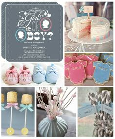 gender reveal party! - Click image to find more Kids Pinterest pins