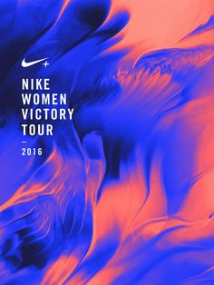 KEY ARTWORK FOR NIKE WOMEN VICTORY TOUR 2016 (NTC) – MORE TO COME SOON