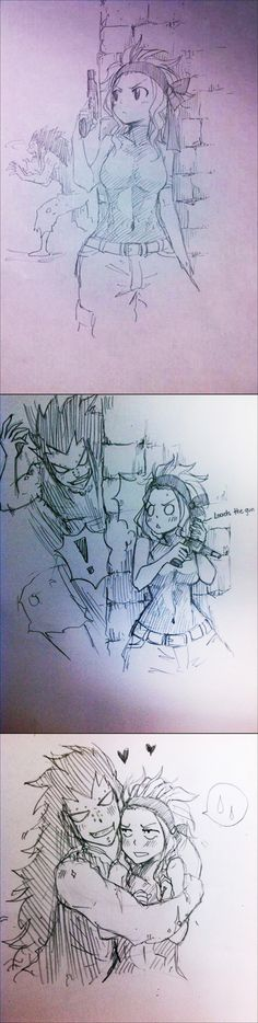 Fairy Tail - Gajeel and Levy - Zombie