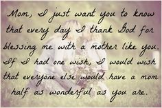 I LOVE MY MOMMY!!! <3