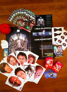 The Party Pack Come Round, Party Packs, Doctor Who, Advent Calendar, Holiday Decor, Doctor Who Baby, Advent Calenders