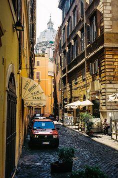 Little Bakery in Rome, Italy