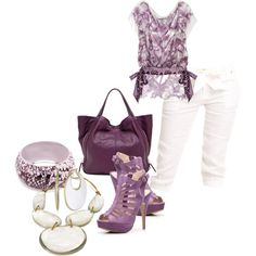 """A Day With Him"" by deborah-simmons on Polyvore"