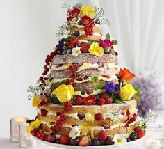 Great British Bake Off Winner Frances Quinn creates cakes like no other. Beautiful for a summer wedding