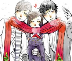 Drawn by Drei SJ ... church, james 'jem' carstairs, the infernal devices, theresa 'tessa' gray, william 'will' herondale