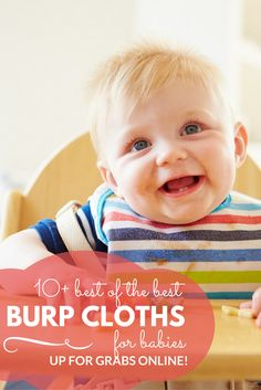 Check out the best of the best burp cloths available online!