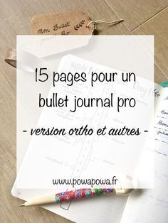 15 pages pour un bullet journal pro Bullet Journal September, Bullet Journal Monthly Spread, Bullet Journal Cover Page, Bullet Journal Themes, Bullet Journal Layout, Bullet Journal Inspiration, Journal Pages, Bujo, Bullet Journal Professionnel