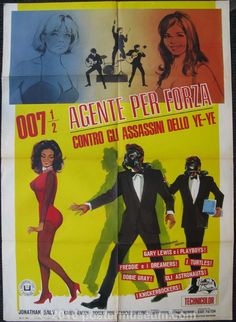 007 1/2 agente per forza contro gli assassini dello y� y� .
