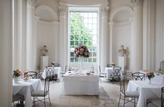 Afternoon tea at the Orangery at Kensington Palace. @Sarah Joseph this made me think of you, for some reason