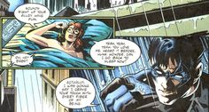 Dick Grayson and Barbara Gordon