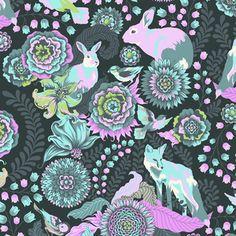 FOXTROT--by Tula Pink  Gorgeous foxy fabric