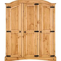 Buy Puerto Rico 3 Door Wardrobe - Light at Argos.co.uk - Your Online Shop for Wardrobes.