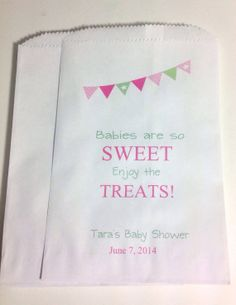 Baby Shower Favor Bags Candy Buffet Treat By Sweetlovecandy 15 50