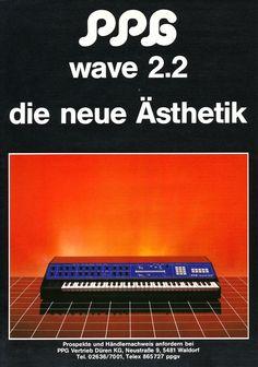 PPG Wave 2.2 Anzeige 1983